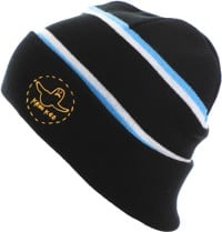 Krooked Trinity Beanie - black/blue/yellow
