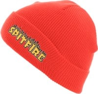 Spitfire Flash Fire Beanie - red