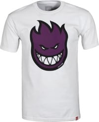 Spitfire Bighead Fill T-Shirt - white/purple
