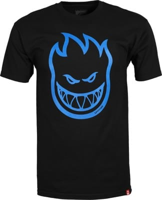 Spitfire Bighead T-Shirt - black/blue print - view large