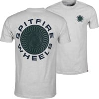 Spitfire Classic 87' Swirl T-Shirt - ash heather/dark green/navy