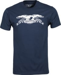 Anti-Hero Basic Eagle T-Shirt - sport dark navy/white