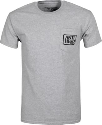 Anti-Hero Reserve Pocket T-Shirt - athletic heather/black - view large