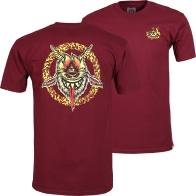 Spitfire Touch Of Satan T-Shirt - burgundy - view large