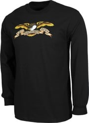 Anti-Hero Eagle L/S T-Shirt - black