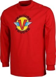 Venture Wings L/S T-Shirt - red