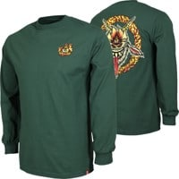 Spitfire Touch Of Satan L/S T-Shirt - forrest green