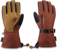 DAKINE Leather Sequoia Gore-Tex Women's Mitts - dark rose
