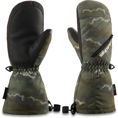 DAKINE Tracker Youth Mitts - olive ashcroft camo - view large