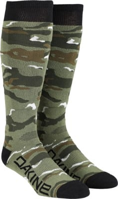 DAKINE Freeride Snowboard Socks - camo - view large