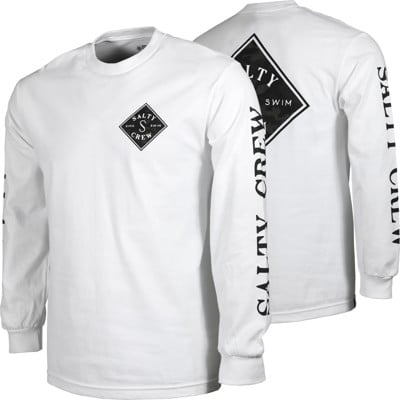 Salty Crew Tippet Decoy L/S T-Shirt - white - view large