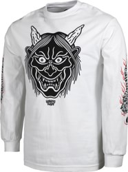 Lurking Class Hannya Fire L/S T-Shirt - white