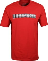 RVCA Baker Photo T-Shirt - red