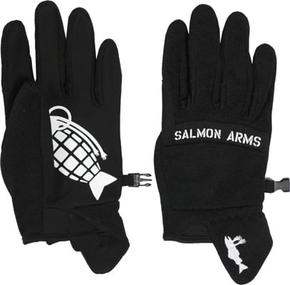 Salmon Arms Spring Gloves - black - view large