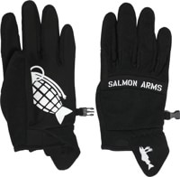 Salmon Arms Spring Gloves - black
