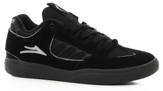 Lakai Carroll XLK Skate Shoes - black/smoke suede - view large