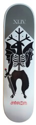 Darkroom Cryptid 8.25 Skateboard Deck - white