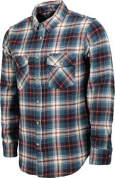 Loser Machine Mundo Flannel Shirt - blue/white
