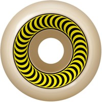 Spitfire Formula Four OG Classic Skateboard Wheels - white/yellow (99d)