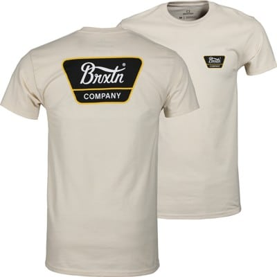 Brixton Linwood T-Shirt - natural - view large