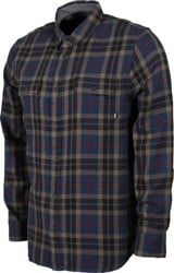 Vans Sycamore Flannel Shirt - dress blues/canteen
