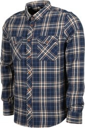 Element Medford Flannel Shirt - eclipse navy