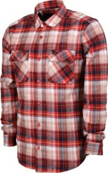 RVCA Emerson Flannel Shirt - chili