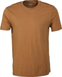 RVCA Solo Label T-Shirt - camel