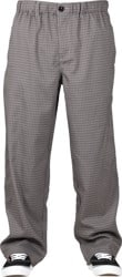 Theories Stamp Lounge Pants - blue/brown check