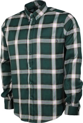 Theories Tartan Flannel Shirt - forest - view large