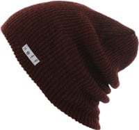 Neff Daily Heather Beanie - maroon heather