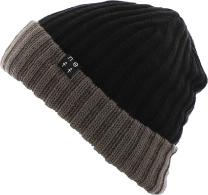 Neff Flippin' Out Reversible Beanie - black/december sky - view large