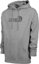 5boro Still Standing Hoodie - gunmetal heather