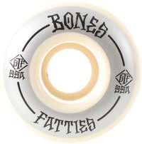 Bones Easy Streets STF P2 Fatties Skateboard Wheels - grey/white (99a)