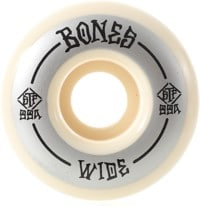 Bones STF V4 Wides Skateboard Wheels - grey/white (99a)