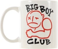 Polar Skate Co. Big Boy Club Mug - white