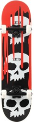 Zero 3 Skull Blood 8.25 Skateboard Deck - red
