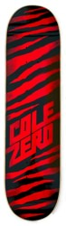 Zero Cole Ripper 8.0 Skateboard Deck - black/red
