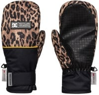 DC Shoes Franchise Women's Mitts - leopard fade