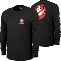 Element Ghostbusters Banshee L/S T-Shirt - flint black