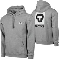 Tactics Icon V2 Hoodie - heather grey