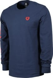 Tactics Icon V2 L/S T-Shirt - navy