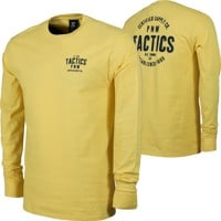 Tactics PNW Supply L/S T-Shirt - yellow