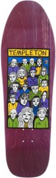 New Deal Templeton Crowd 10.125 LTD Screen Print Skateboard Deck - purple