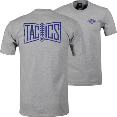 Tactics Pineline T-Shirt - heather grey - view large