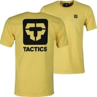 Tactics Icon V2 T-Shirt - yellow