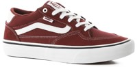 Vans Rowan Pro Skate Shoes - port/white