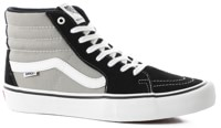 Vans Sk8-Hi Pro Skate Shoes - (nation) black/silver