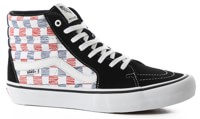 Vans Sk8-Hi Pro Skate Shoes - (sketchy checker) white