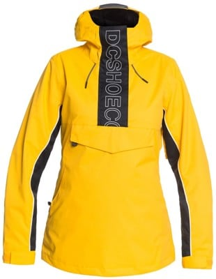 DC Shoes Envy Anorak Insulated Jacket - lemon chrome - view large